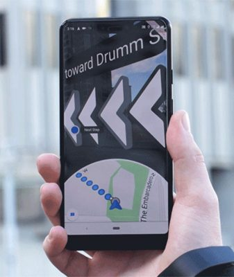 Google Maps AR 1 | Android-User.de