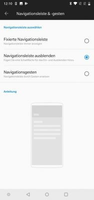 OnePlus 7 Navigationsleiste | Android-User.de