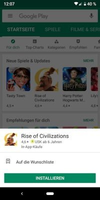 Play Store neu | Android-User.de