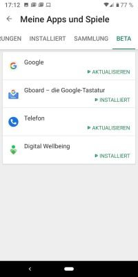 Android Beta 3 | Android-User.de