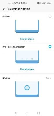 Honor 21 Navidot | Android-User.de