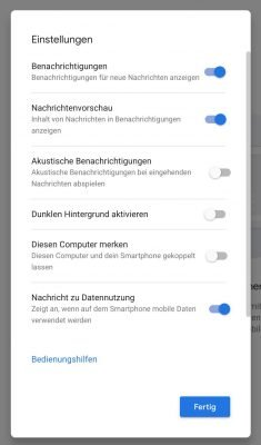 Messages alt | Android-User.de