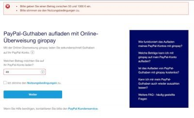 PayPal 6   Android-User.de