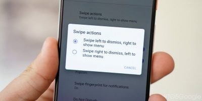 Android Q Swipe Actions | Android-User.de