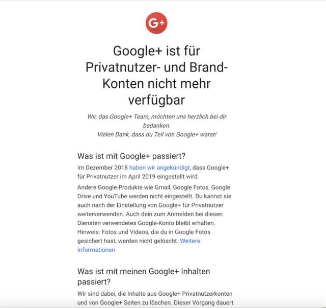 Google+ | Android-User.de