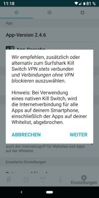 Surfshark 10 | ANdroid-User.de