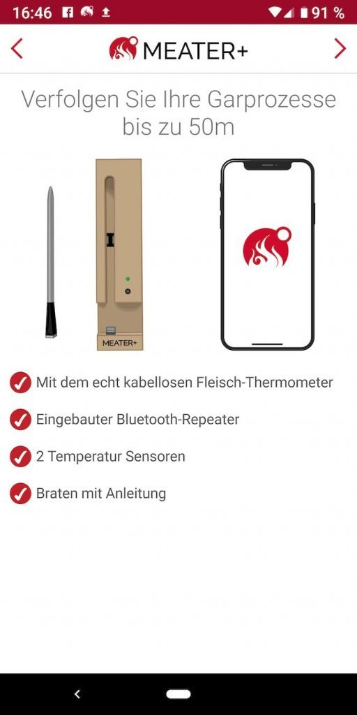 Meater 6 | Android-user.de