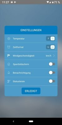 Weather 1 | ANdroid-User.de