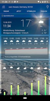 Weather 5 | Android-User.de