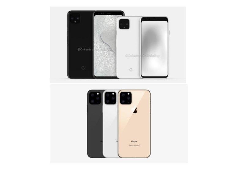 Pixel 4 / 4 XL und iPhone 11 – Die Konkurrenten nähern sich an