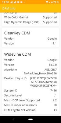 Widevine 4 | Android-User.de