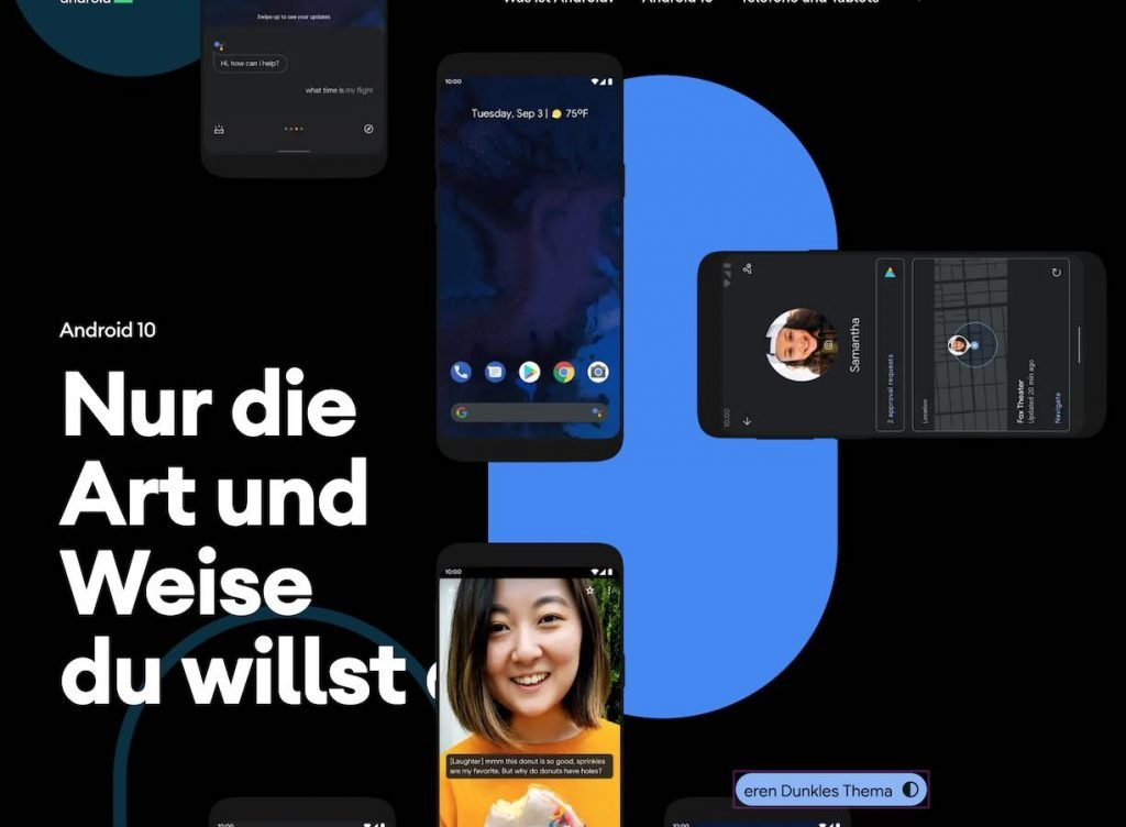 ANdroid 10 dunkel | Android-User.de