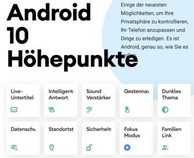 Android 10 1 | Android-User.de