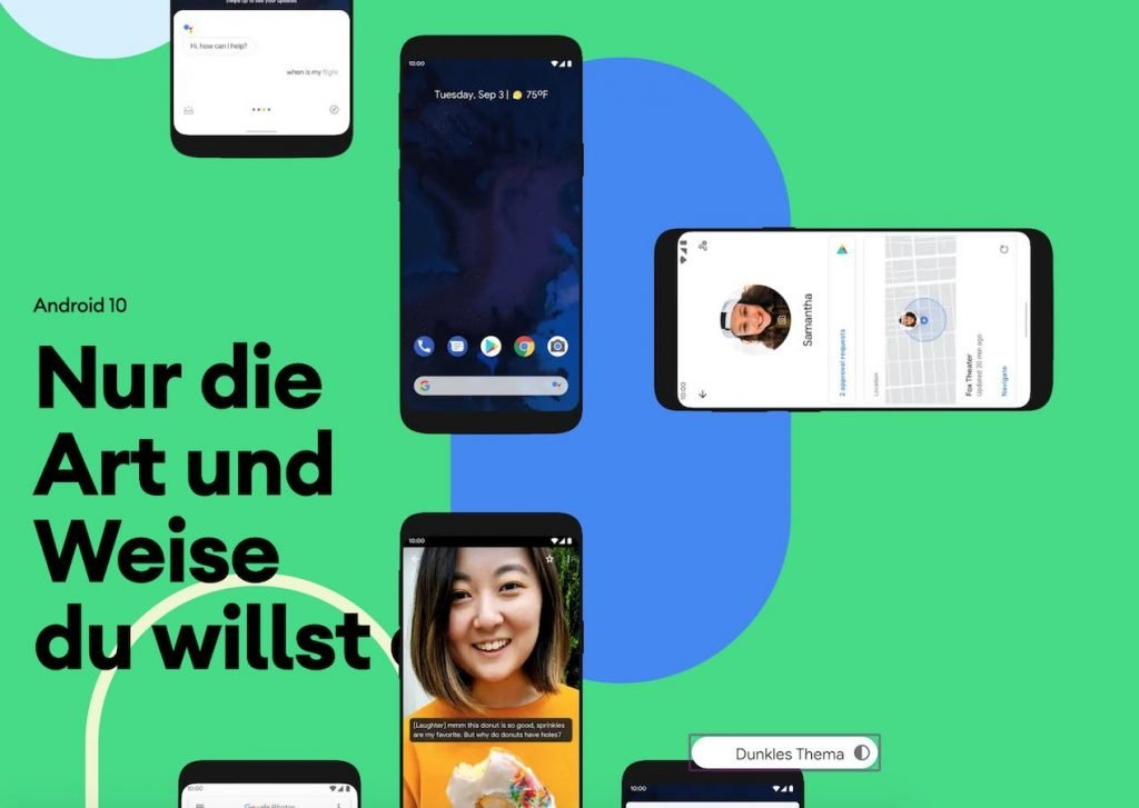 Android 10 hell | Android-User.de