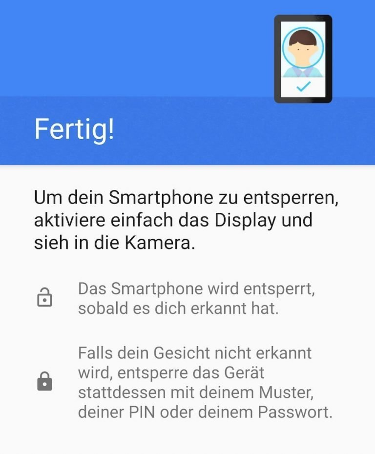 Smart Lock – Entsperrmethode Trusted Face in Android 10 entfernt