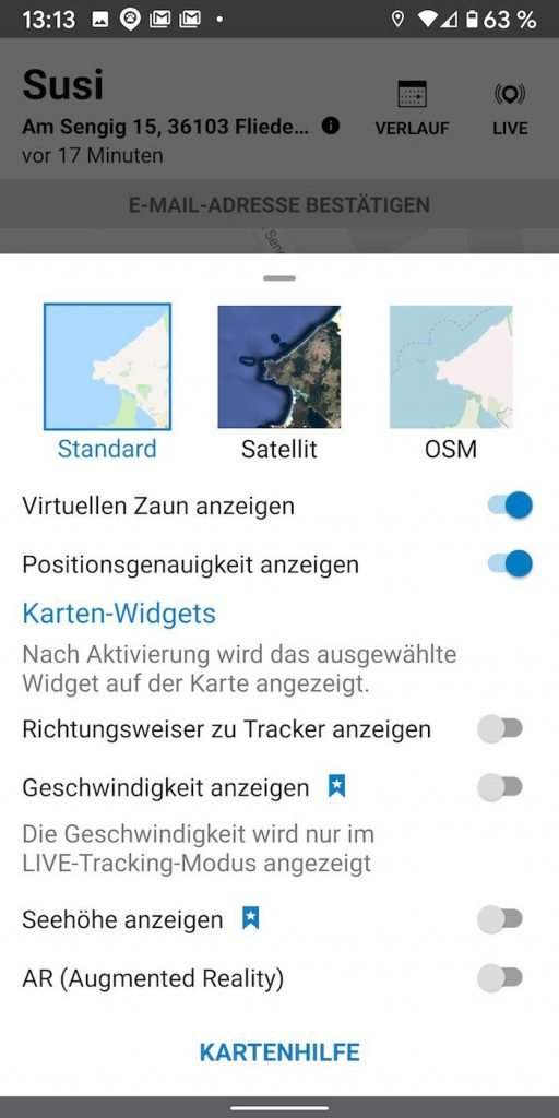 Tracktive 15 | Android-User.de