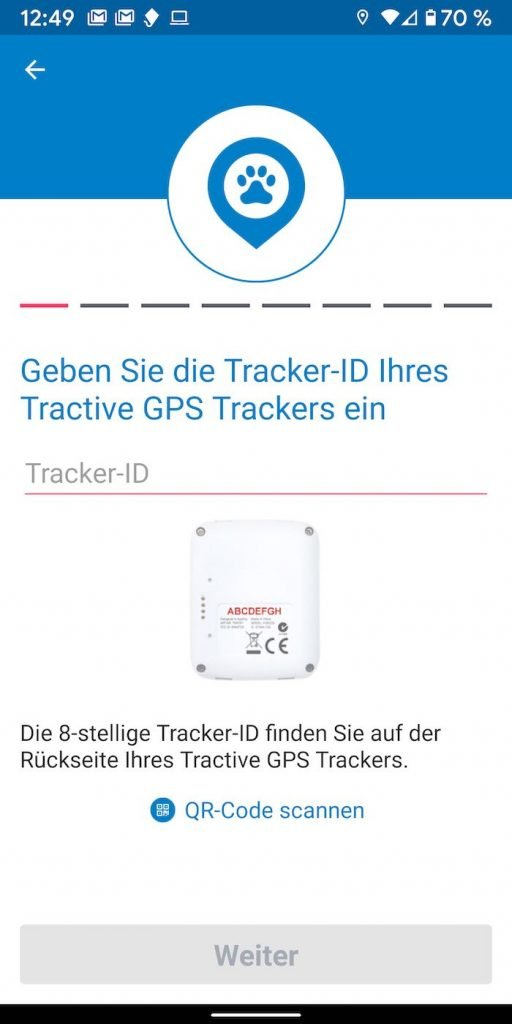 Tracktive 7 | Android-User.de
