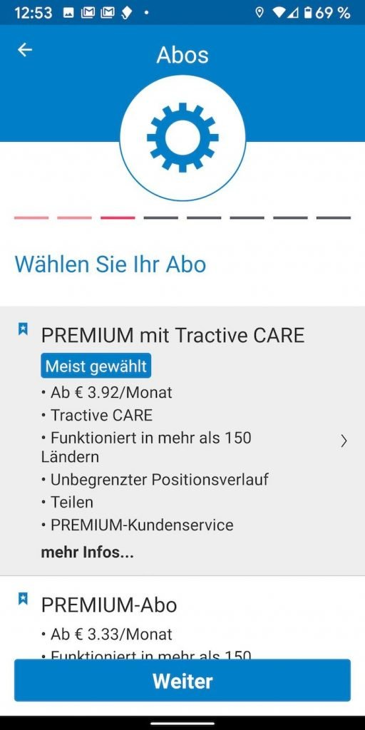 Tracktive 8.1 | Android-User.de