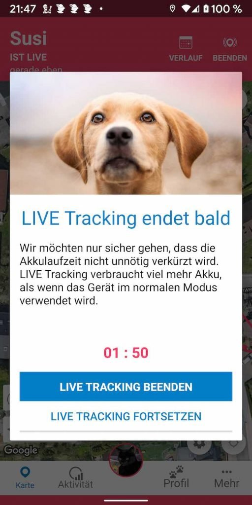 Tractive 9 | Android-User.de