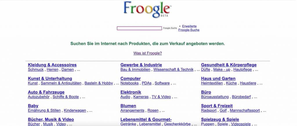 Froogle | Android-User.de