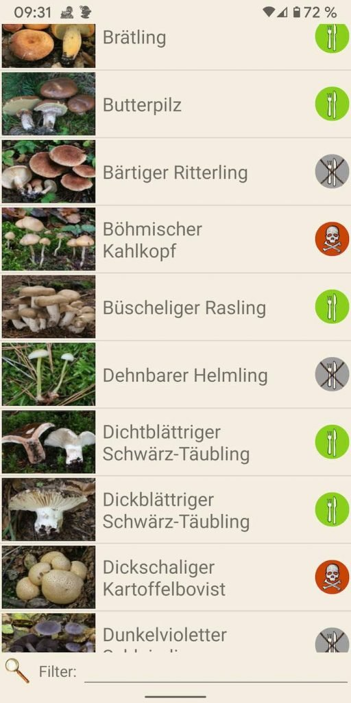Pilze 4 | Android-User.de