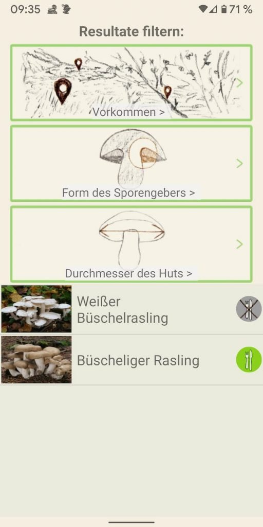 Pilze 7 | Android-User.de