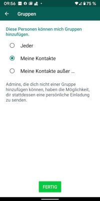 WhatsApp Gruppe | Android-User.de