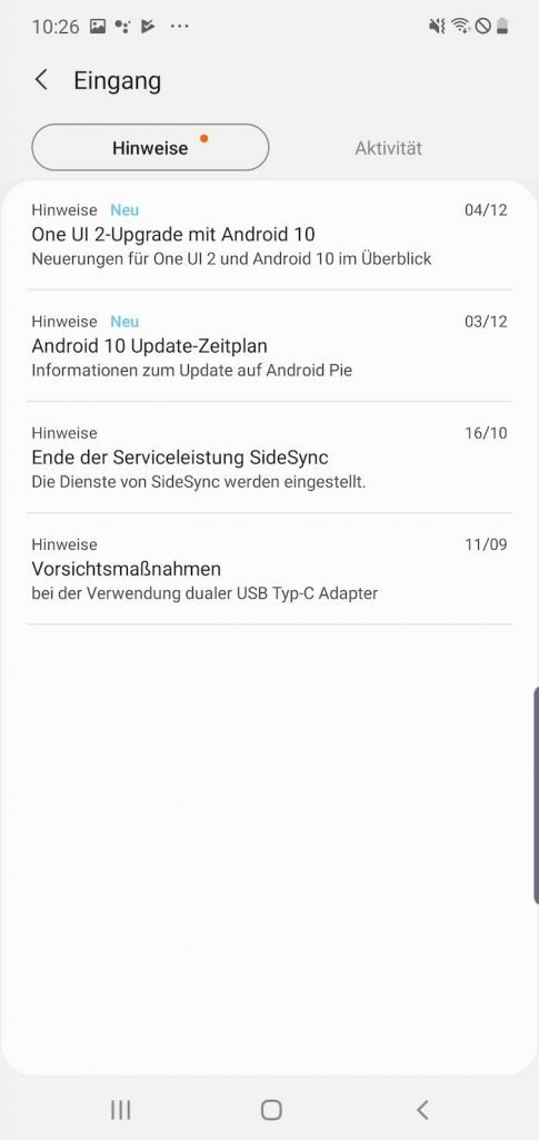 Samsung 3 | Android-User.de