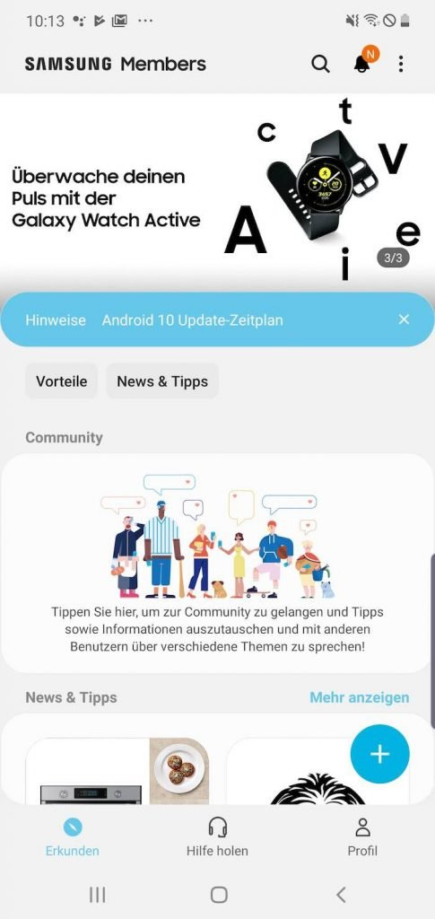 Samsung Samsung Members | Android-User.de