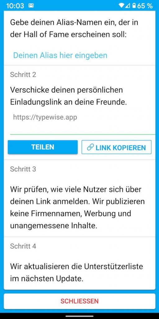 Typewise 15 | Android-User.de