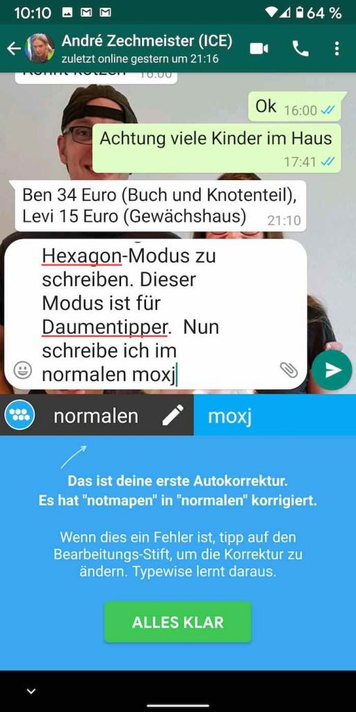 Typewise 18 | Android-User.de