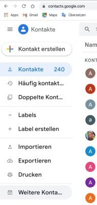 Contacts 1 |Android-User.de