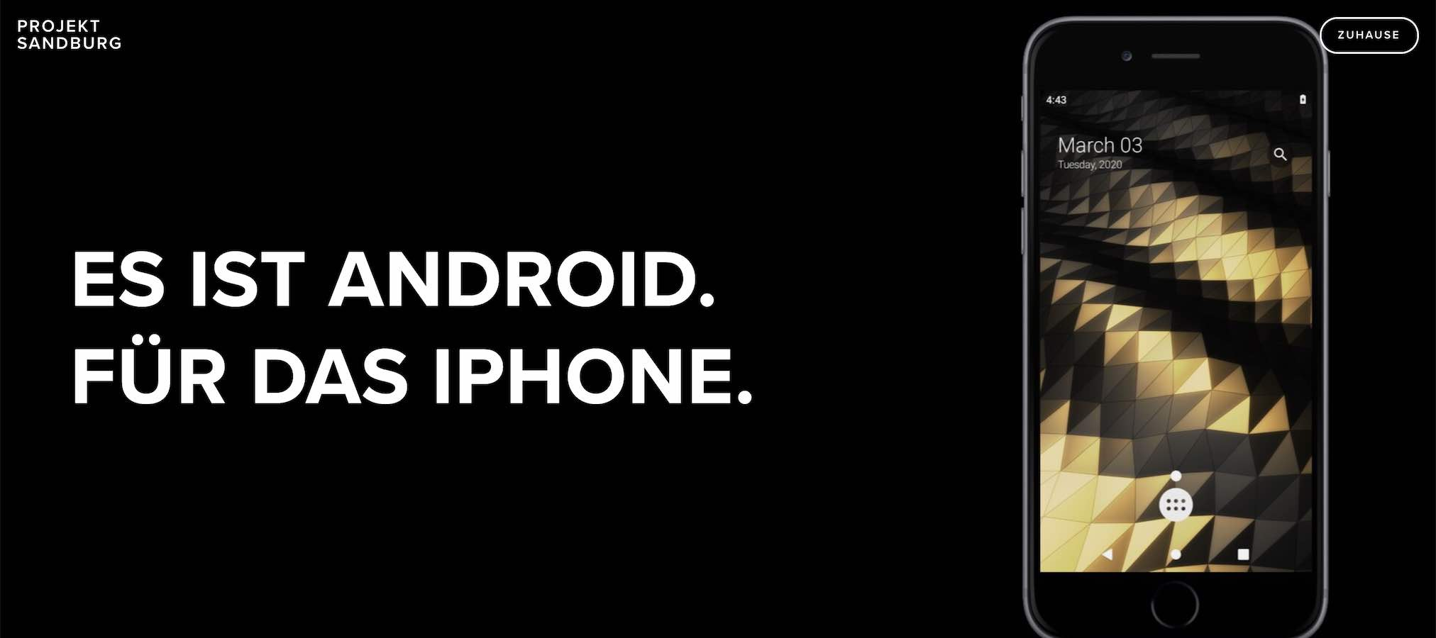 Android auf Iphone |ANdroid-User.de