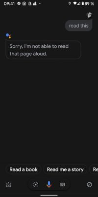 Assistant Read 1 |Android-User.de