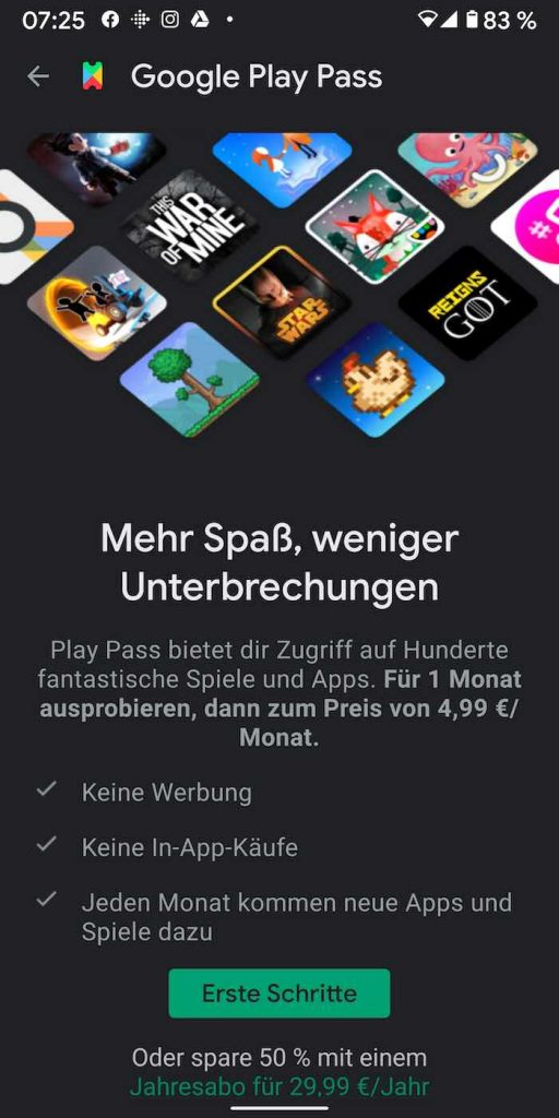 Play Pass 5 | Android-User.de