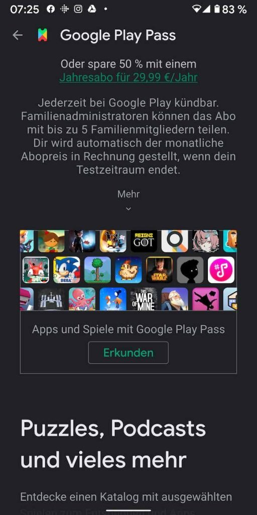 Play Pass 6 | Android-User.de