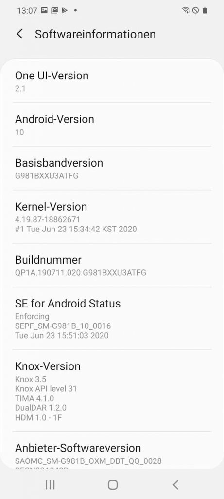 S20 22 | Android-User.de