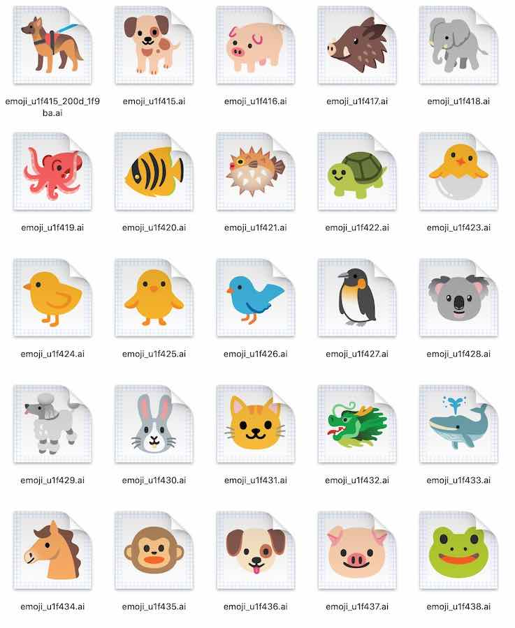 android-11-final-emoji-animals-1 | Android-User.de
