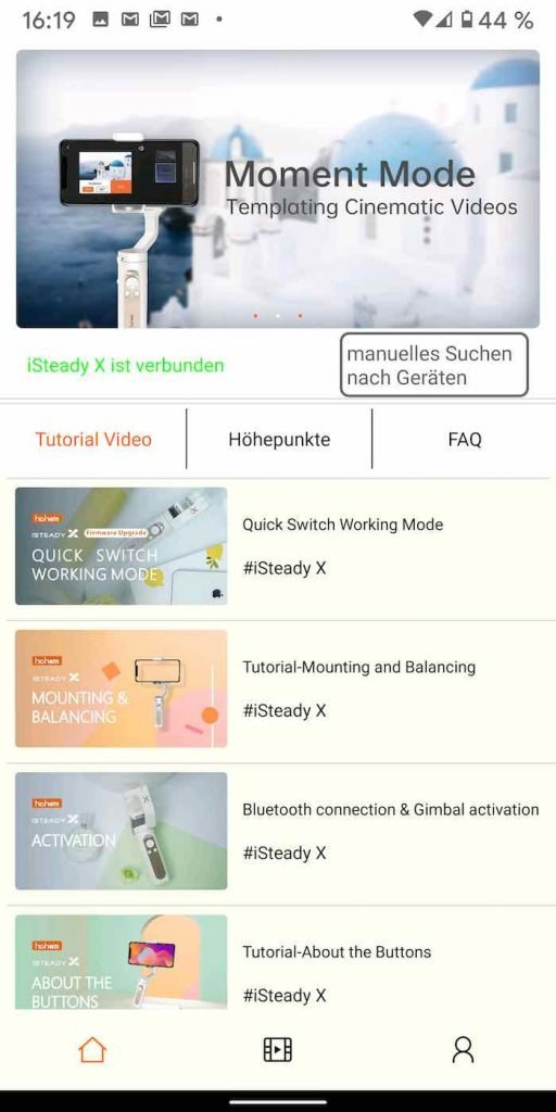 isteady 11 |Android-User.de