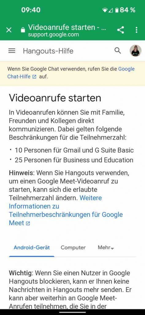 Hangouts 2 | Android-User.de