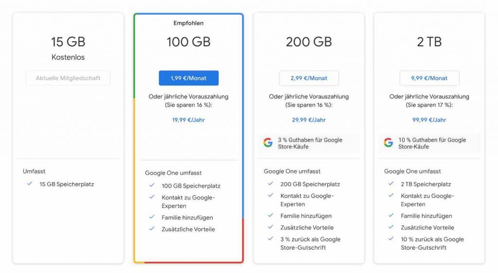Google One Abo |android-User.de