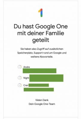 Google One Abo 4 | Android-User.de