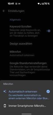 Recorder | Android-User.de