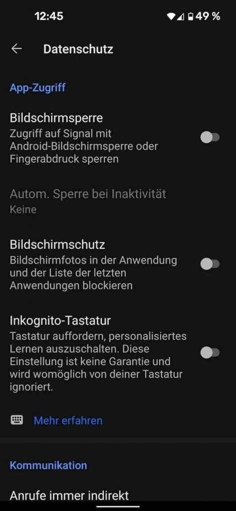 Signal 15 |Android-User.de