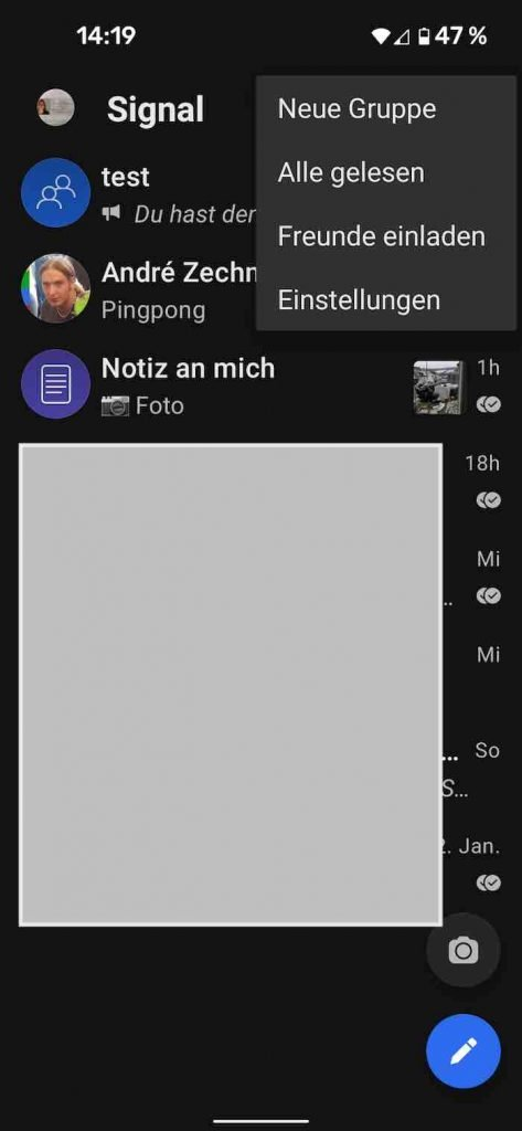 Signal 19 |Android-User.de