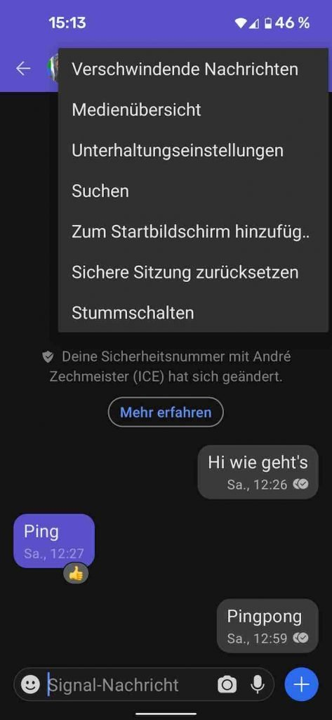 Signal 23 |Android-User.de