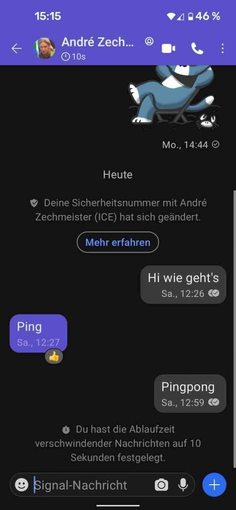 Signal 25 |Android-User.de