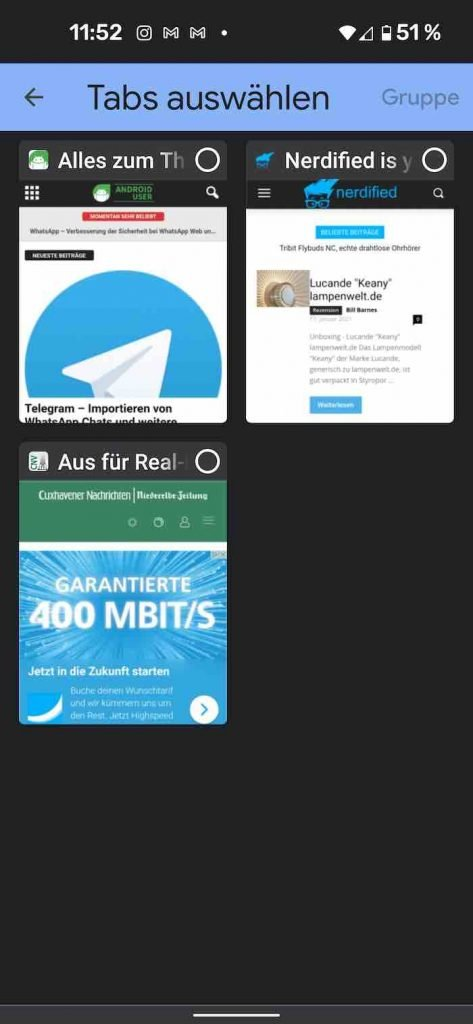 Tab Groups 4 | android-User.de