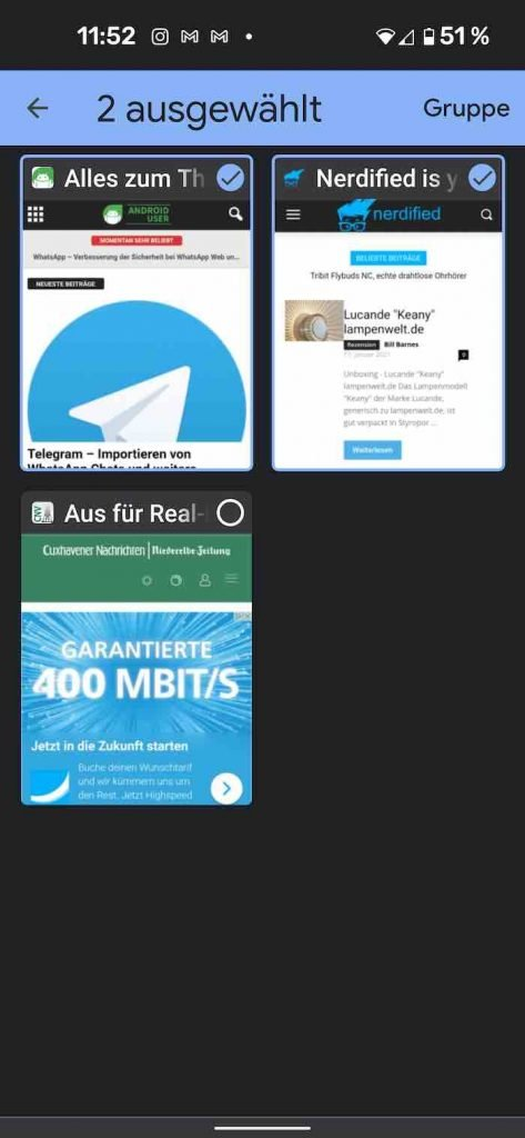 Tab Groups 5 | Android-User.de