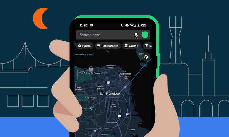 Google-Maps-dark-theme-Android | android-User.de
